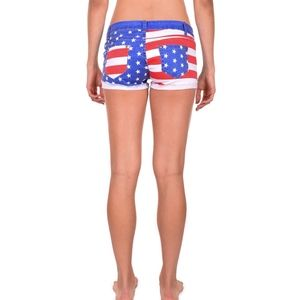 Tipsy Elves Shorts - Tipsy Elves Liberty Jean Shorts